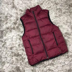 GAP Kids Red Puffer Vest Kid's Size XL